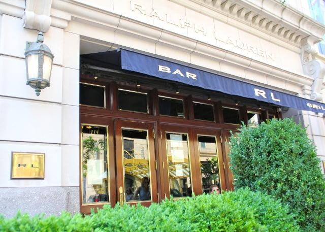 O restaurante Ralph Lauren 9f2424b2879