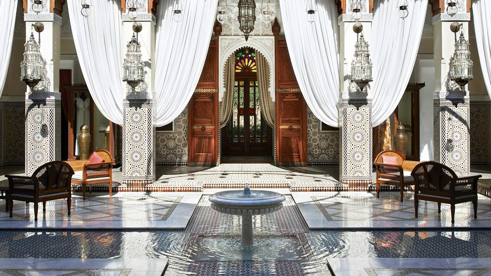 O Royal Mansour, em Marrakech, é o número 6 entre os 50 Melhores Hotéis do Mundo