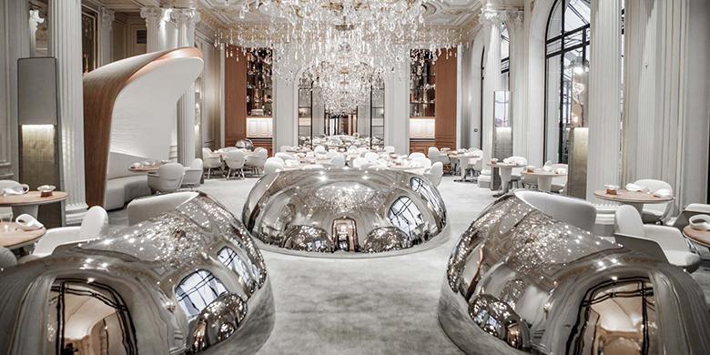 O novo restaurante, com design de Patrick Jouin