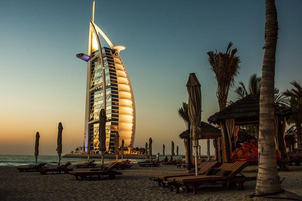 Dubai, nos Emirados Árabes Unidos, está entre as dez cidades mais visitadas do mundo