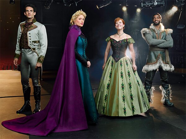 Elenco musical Frozen na Broadway