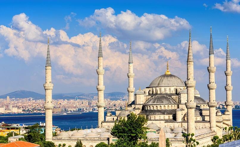 Istambul, na Turquia, está entre as dez cidades mais visitadas do mundo