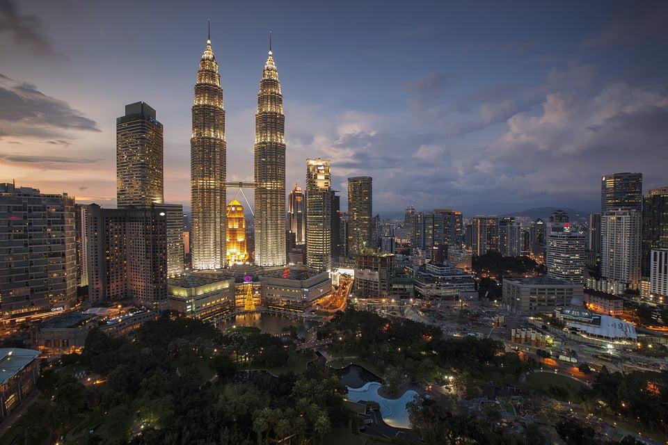 Kuala Lumpur, na Malásia, está entre as dez cidades mais visitadas do mundo