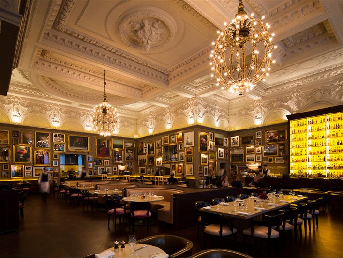 Restaurante Berners Tavern - Onde comer e beber em Londres