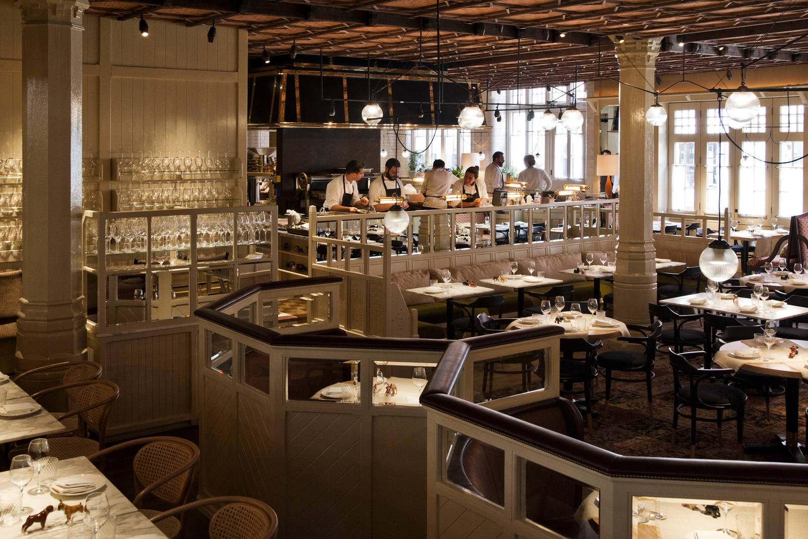Restaurante Chiltern Firehouse - Onde comer e beber em Londres