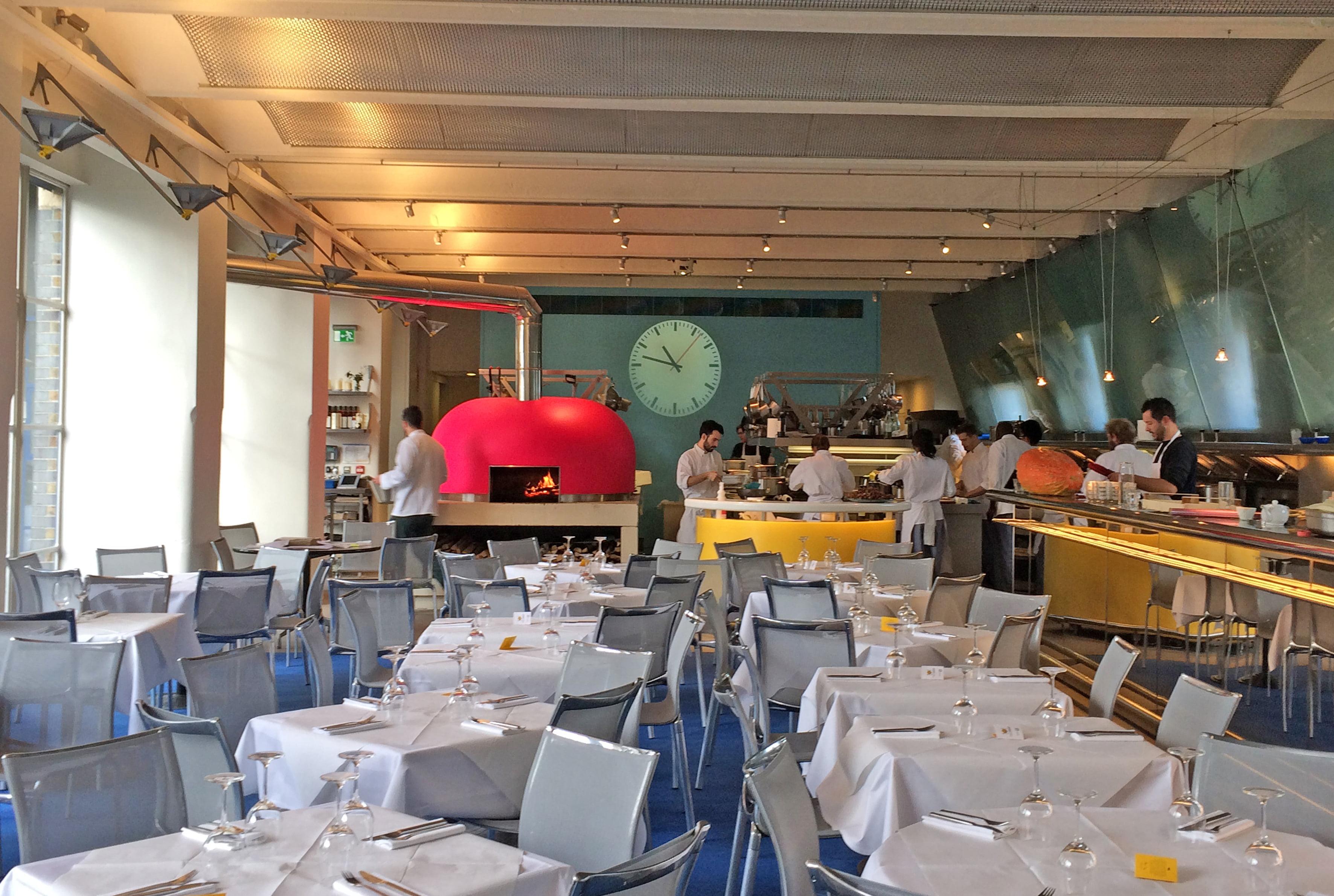 Restaurante River Cafe - Onde comer e beber em Londres