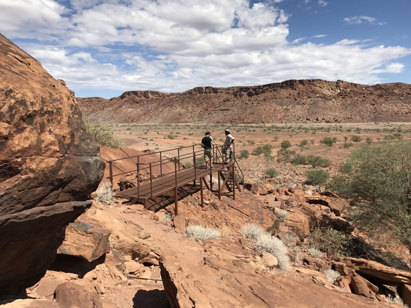 Sítio arqueológico de Twyfelfontein (Viagem fotográfica pela Namíbia por Carioca NoMundo)