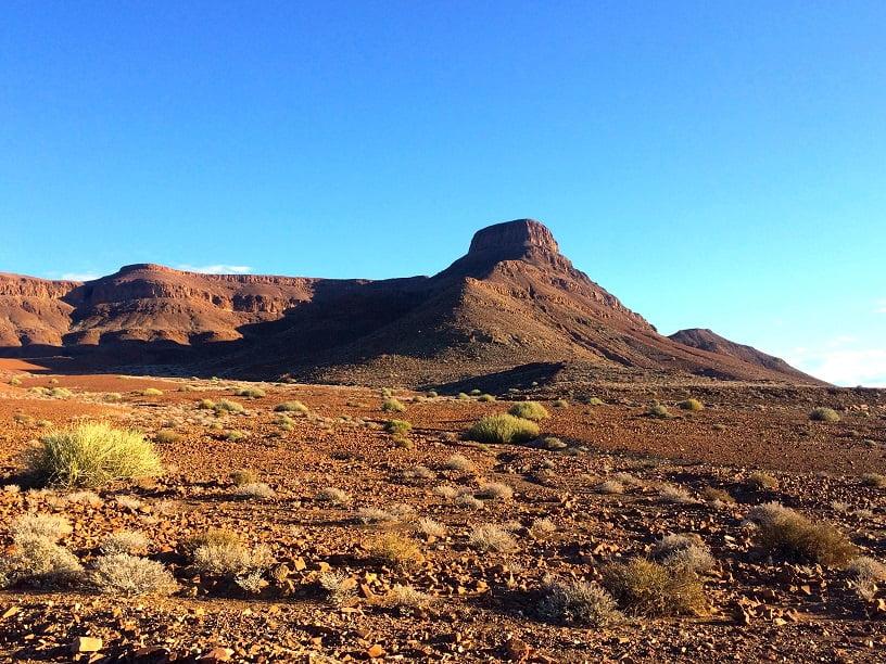 Montanha em Damaraland (Viagem fotográfica pela Namíbia por Carioca NoMundo)