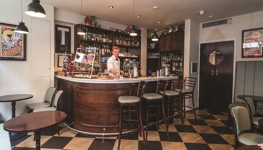 O Bar Termini, em Londres: o nono entre os melhores bares do mundo