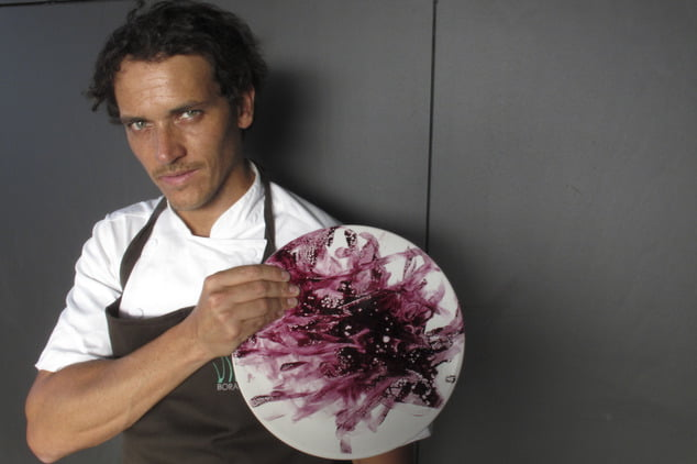 O chef Rodolfo Guzmán, do BORAGÓ: quinto lugar entre os 50 Melhores Restaurantes da América Latina