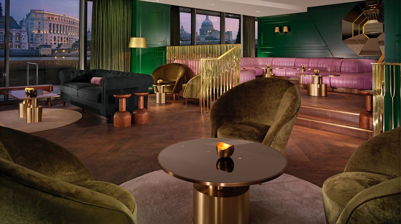 O Dandelyan, em Londres: o segundo entre os melhores bares do mundo