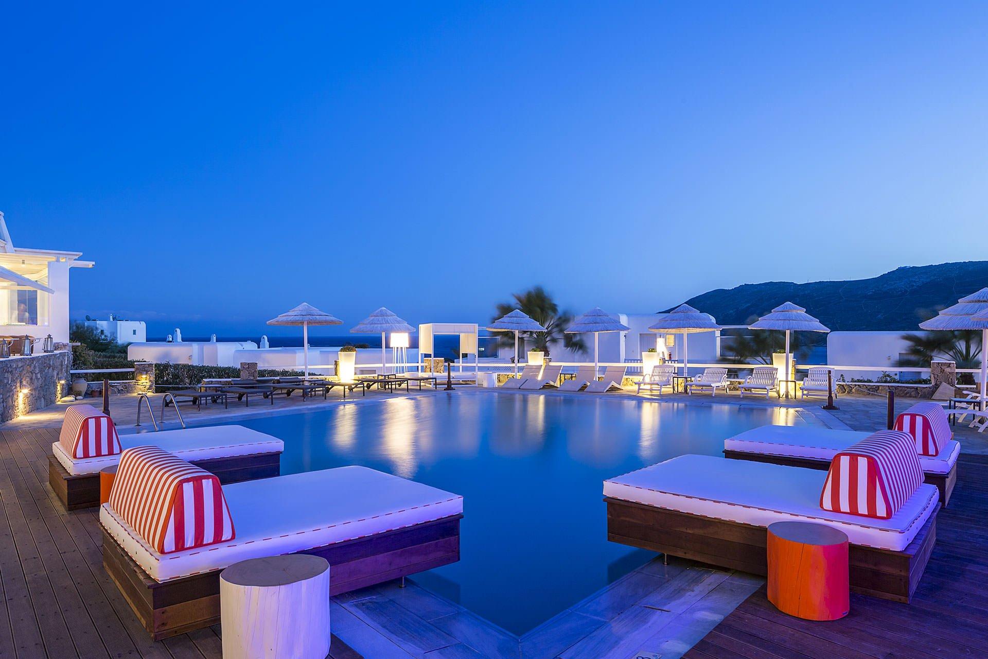 O Archipelagos, em Mykonos, é o nono entre os 50 Melhores Hotéis do Mundo