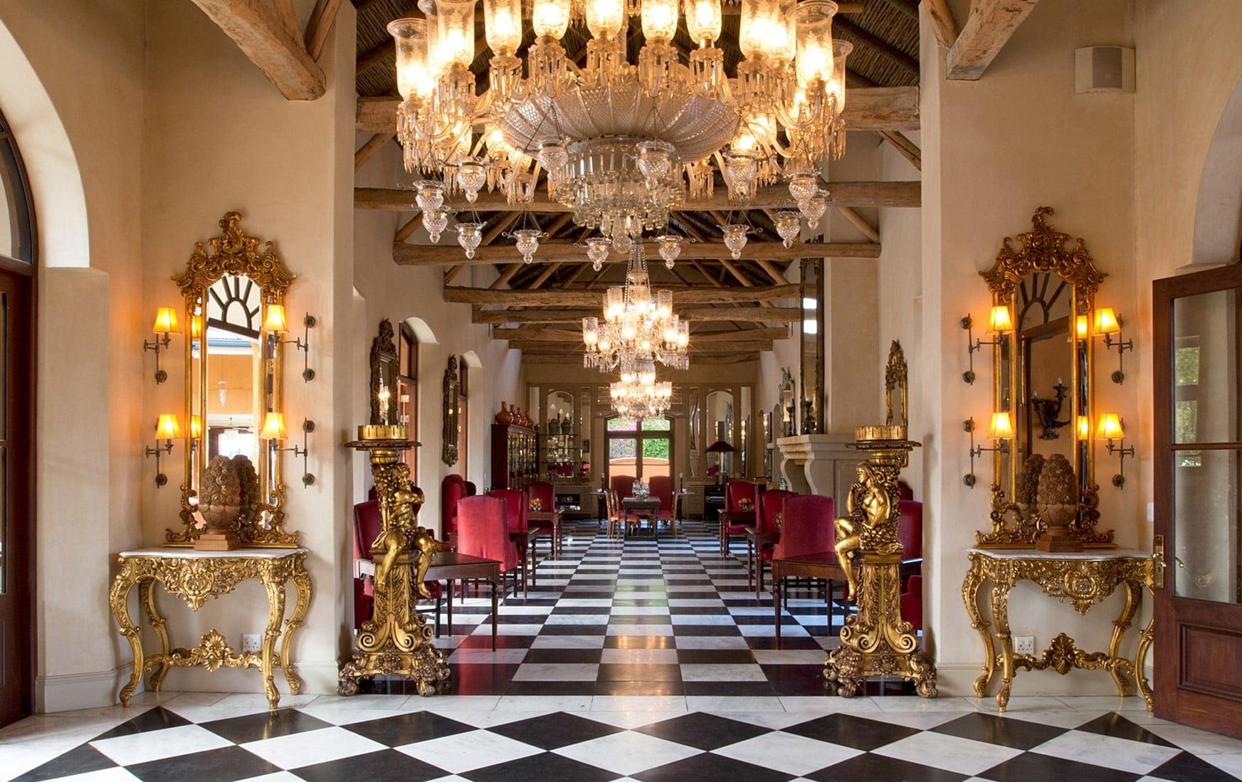 O hotel La Residence, em Franschhoek, África do Sul (50 Melhores Hotéis do Mundo)