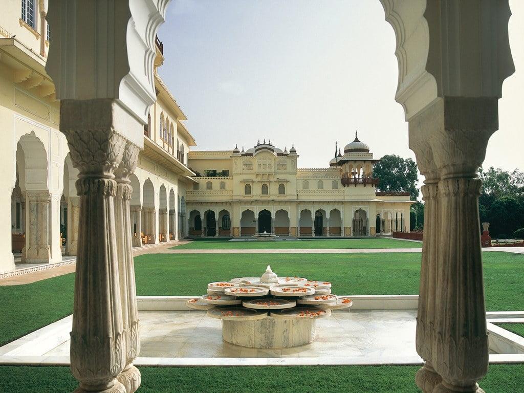 O Rambagh Palace, em Jaipur, na Índia: número 25 entre os 50 Melhores Hotéis do Mundo