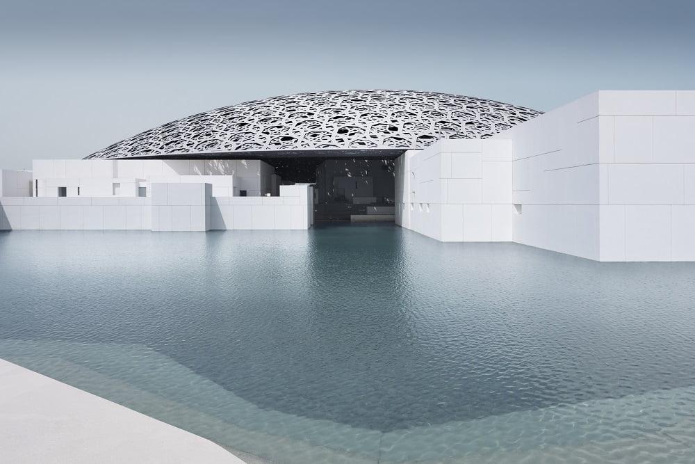 Museu Louvre Abu Dhabi em post do Carioca NoMundo