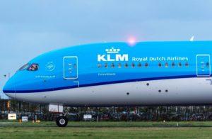 Voo Rio-Amsterdã KLM Boeing 787 Dreamliner