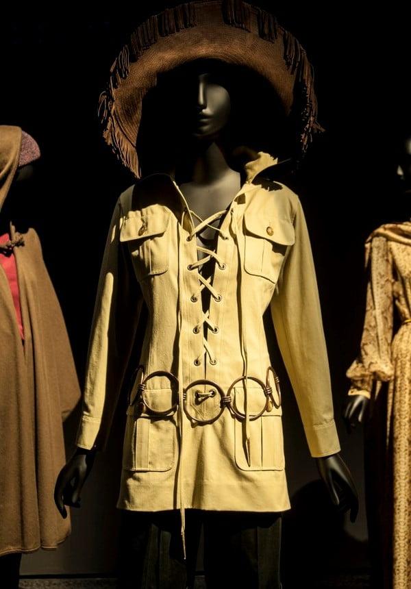 Museu Yves Saint Laurent, em Marrakech: o vestido Mondrian e a saharienne