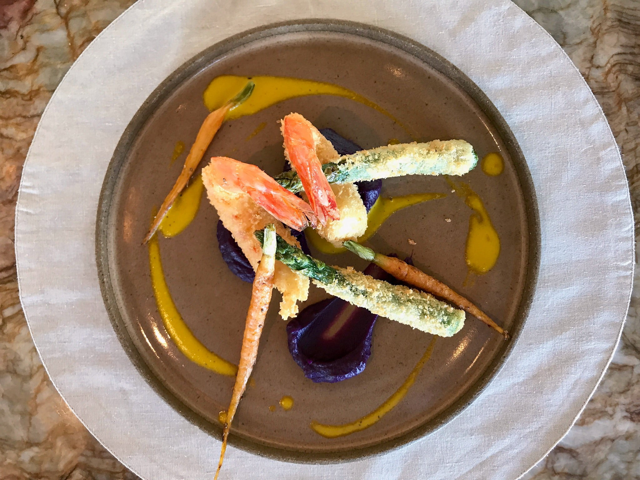 O que comer (e por quanto) na Pérgula do Copacabana Palace: tempura