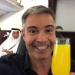 Classe executiva da Qatar Airways Business Class Beirut - Doha Carioca NoMundo Jayme Drummond