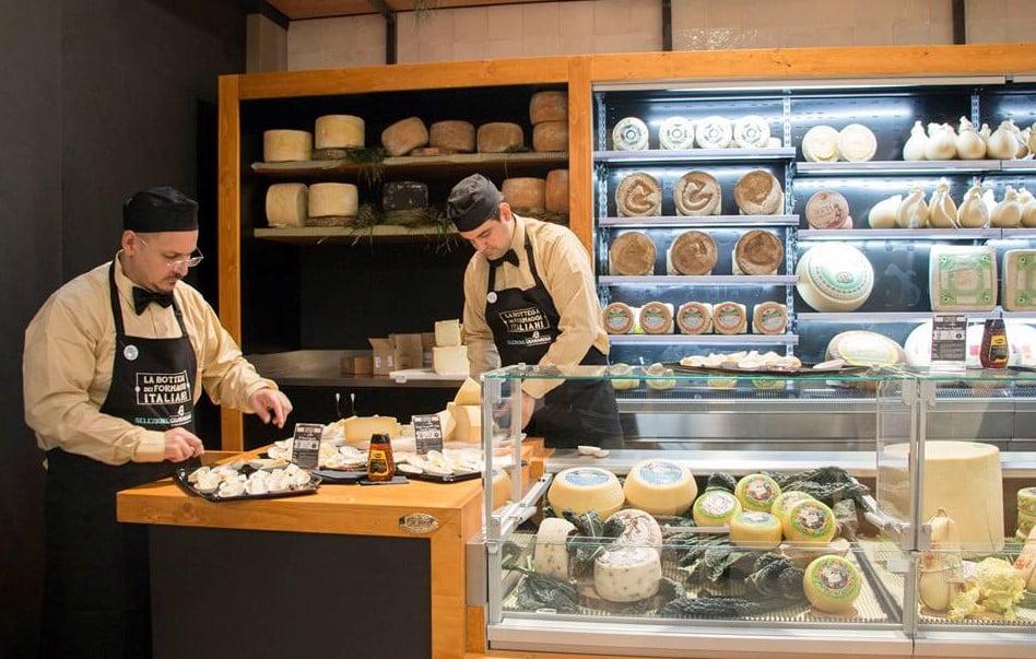 Queijaria no Eataly World: valorização dos produtores locais italianos