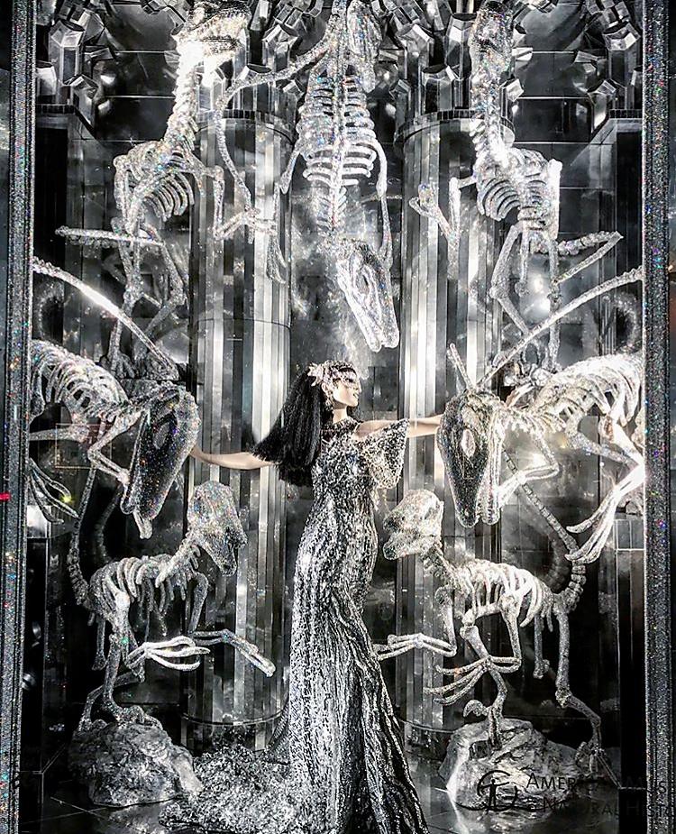 As vitrines de natal de Nova York: Bergdorf Goodman