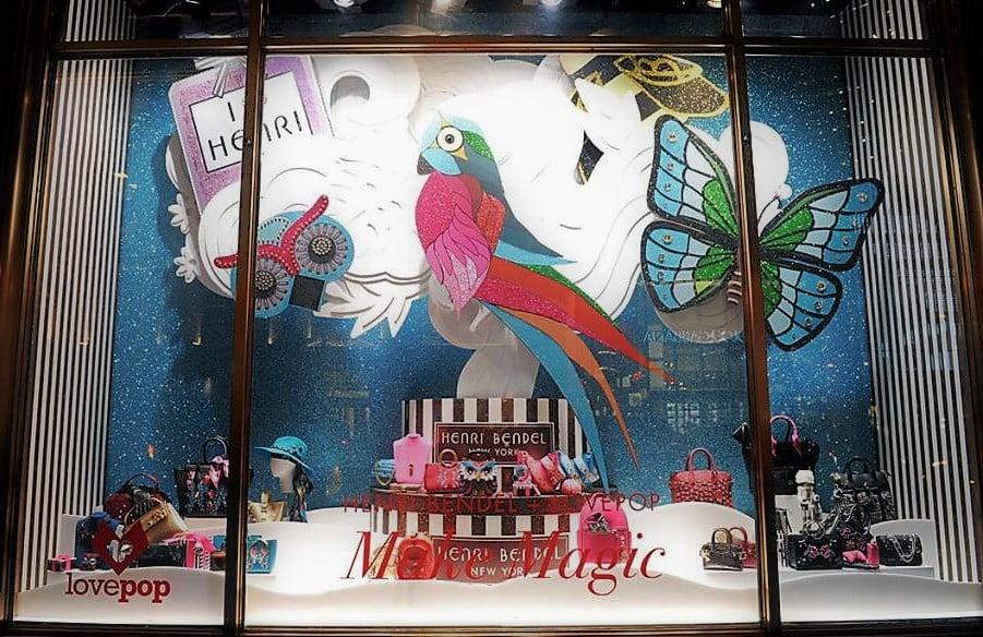 As vitrines de Natal de Nova York: Henri Bendel