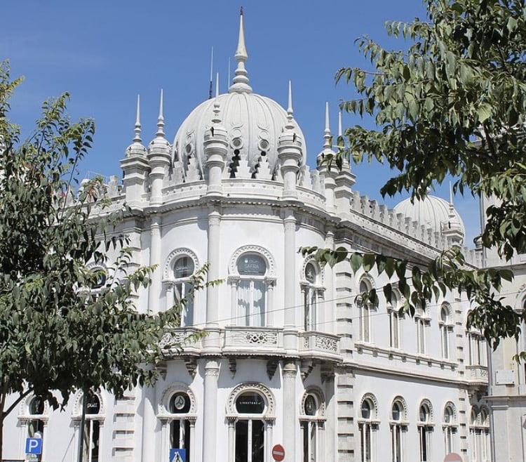 O centro comercial Embaixada, em Lisboa
