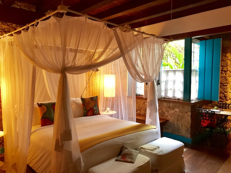 O hotel Casa Turquesa, em Paraty