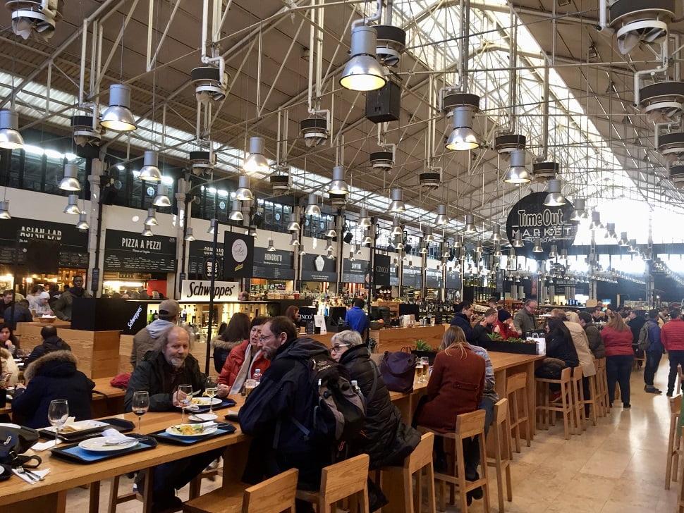 Mercado da Ribeira - Os melhores lugares para comer e beber em Lisboa