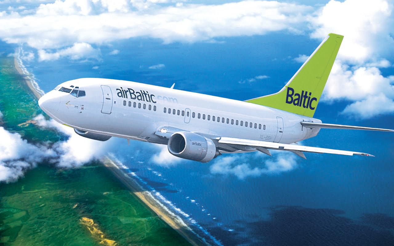 A airBaltic é a número 1 entre as companhias aéreas mais pontuais do mundo