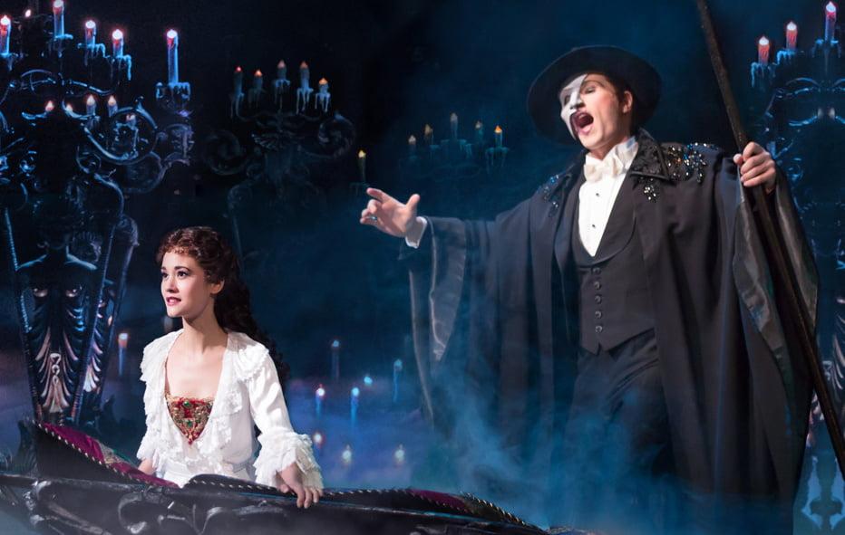 Resultado de imagem para musical o fantasma da opera em londres