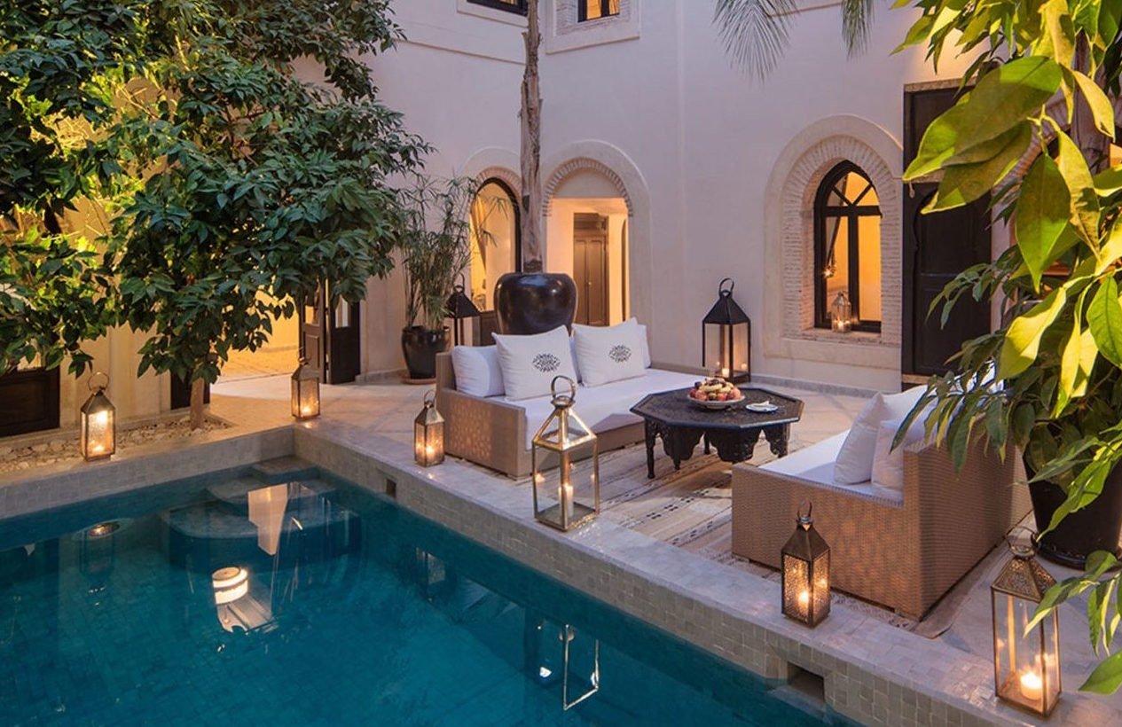 Riad Kheirredine - O segundo entre os melhores hotéis de luxo do mundo