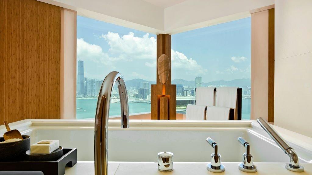 The Upper House Hong Kong - o terceiro na lista dos melhores hotéis de luxo do mundo