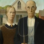 A retrospectiva do pintor Grant Wood no Whitney Museum