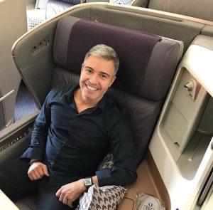 Como é voar na executiva do A350 da Singapore Airlines