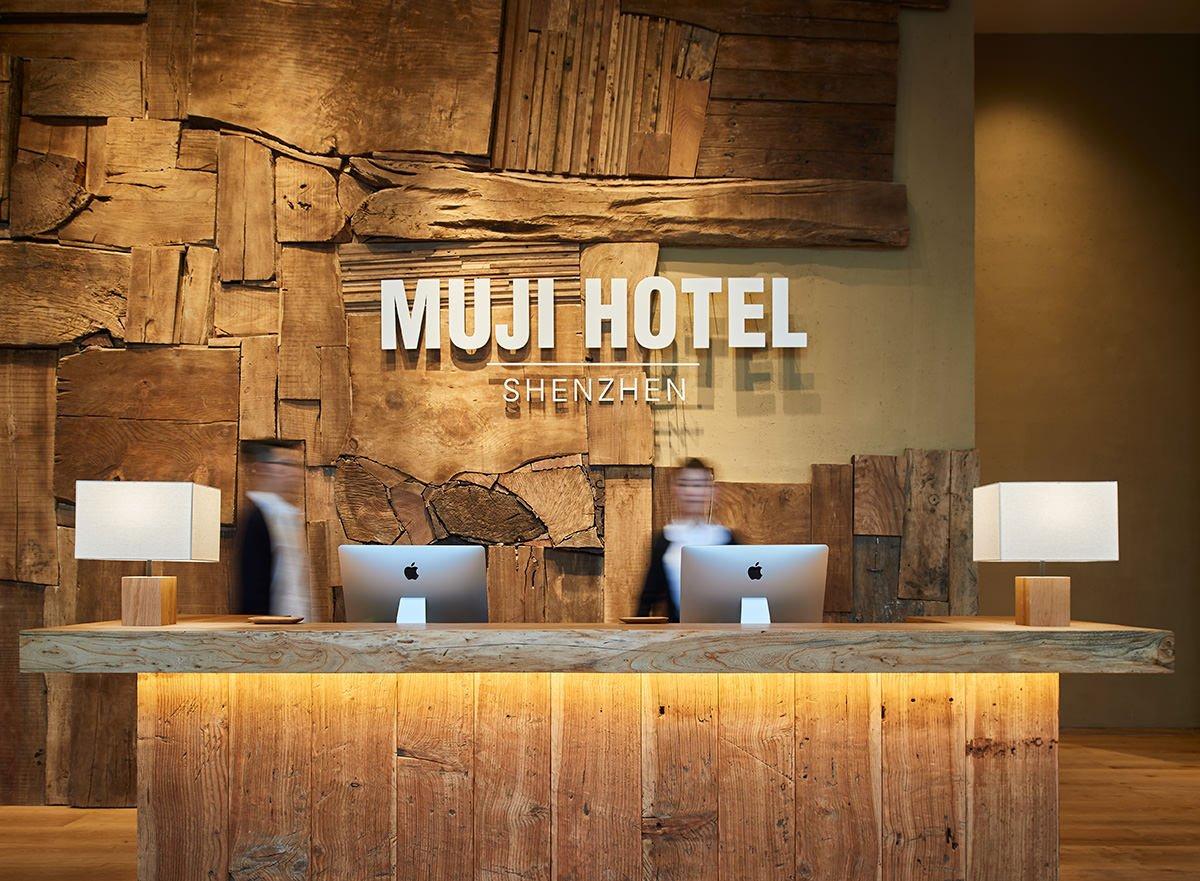 O MUJI Hotel, em Shenzhen, na China