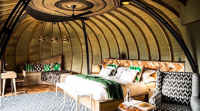 O hotel Bisote Lodge, em Ruanda, prêmio especial do Prix Versailles 2018