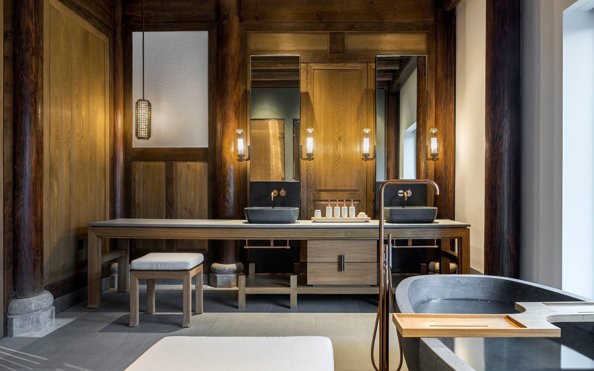 O hotel Amanyangyun, em Xangai, China, vencedor do Prix Versailles 2018