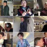 Em 31 de maio é celebrado o Dia do Comissário de Bordo e aqui vai uma lista com os melhores comissários de bordo do mundo