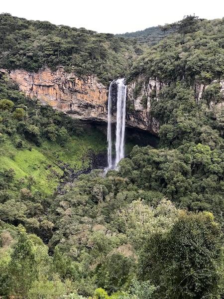 Cascata do Caracol - Roteiro de três dias pela Serra Gaúcha