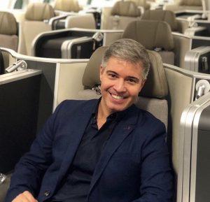 Como é a executiva da TAP Air Portugal, em um voo do Rio de Janeiro até Lisboa