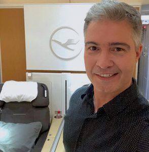 A experiência de voar na primeira classe da Lufthansa, do Rio a Frankfurt