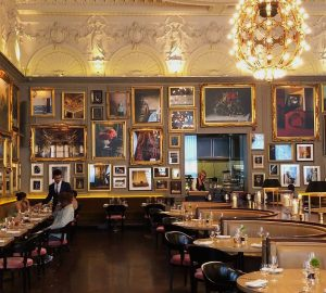 O Berners Tavern, o restaurante mais bonito de Londres, no hotel The London Edition, por Carioca NoMundo