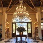 Hall de entrada do La Residence, o sétimo melhor hotel do mundo