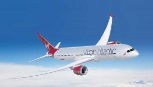 A Virgin Atlantic passará a voar para o Brasil com o B787
