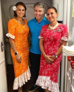 Como é voar na executiva da Air Tahiti Nui