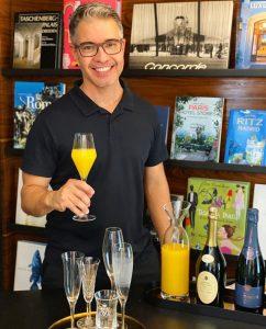 A receita da mimosa do Carioca NoMundo (e como surgiu esse drinque?)