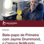 Entrevista do Carioca NoMundo ao site Passageiro de Primeira
