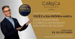 Como será a primeira master class do Carioca NoMundo
