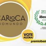 Vote no Carioca NoMundo para o Prêmio iBest! 2020